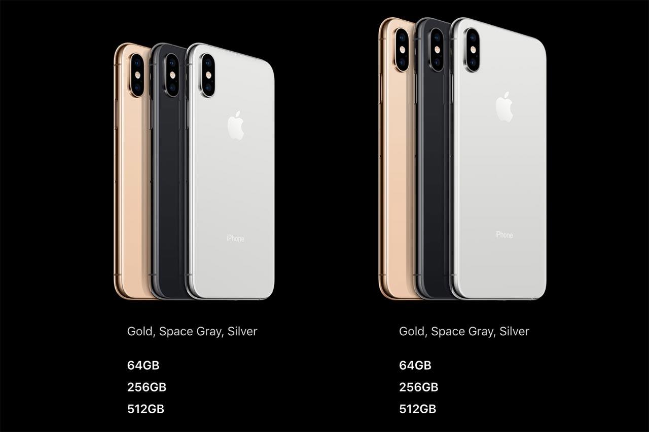 Các phiên bản và màu sắc của iPhone XS/ XS Max