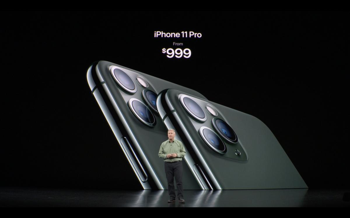 Giá bán IPhone 11 Pro