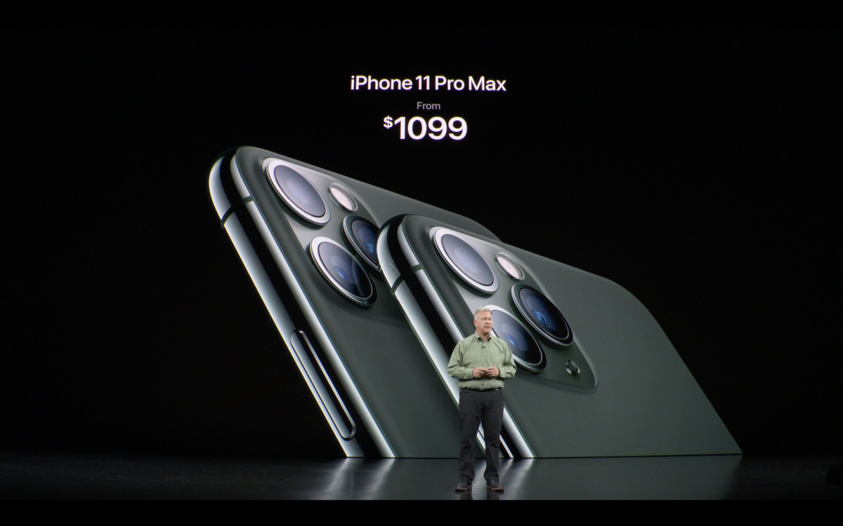 Giá bán iPhone 11 Pro Max