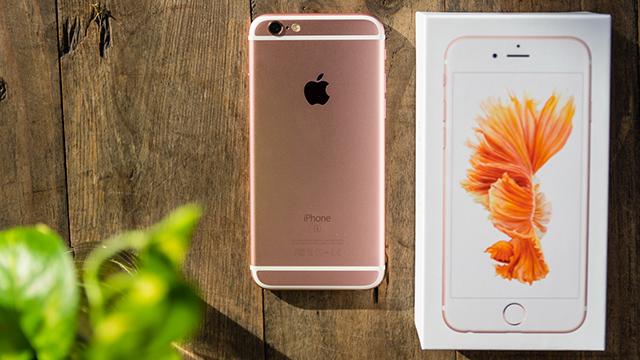iphone 6s hồng