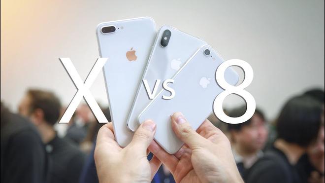 iPhone 8 và iPhone X bạn nên lựa chọn chiếc nào ?