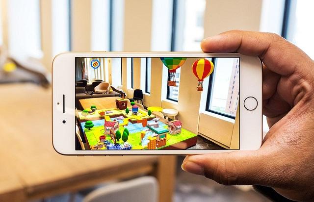 Tính năng thực tế ảo trên điện thoại iPhone 8 Plus 64GB
