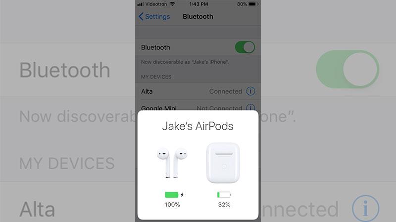 iOS sẽ hỗ trợ AirPods 2 tốt hơn