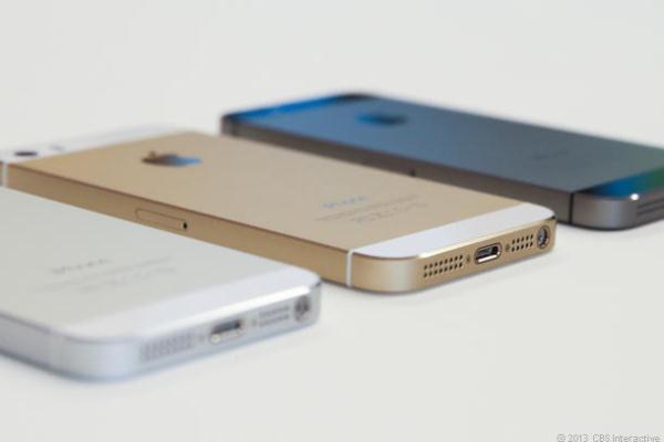 iPhone 5s có 3 màu dễ dàng lựa chọn